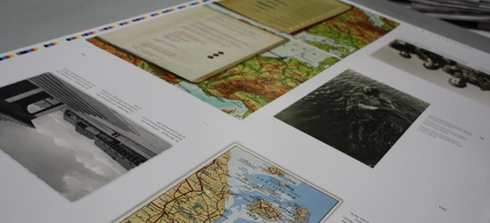 print sheet of chapter III - historical maps and photos